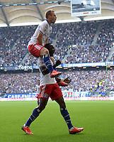 Fussball Bundesliga 2013/14: Hamburger SV - Eintracht Braunschweig