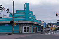 Broadway Street, Architecture, Seaside, Oregon, USA
