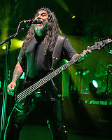 MIAMI BEACH, FL - SEPTEMBER 28:  Slayer in concert at the Fillmore on September 28, 2016 in Miami Beach, Florida. Credit: mpi04/MediaPunch