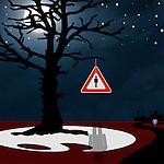 """""""Strange Fruit"""" - 09/21/2010 - Digital Mixed Media - ©Thierry Gourjon"""