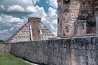 Mayan ruins of Chichen Itza, Cancún,