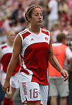 Canada's Katie Thorlakson on Saturday, May 12th, 2007 at Pizza Hut Park in Frisco, Texas. The United States Women's National Team defeated Canada 6-2 in a women's international friendly.