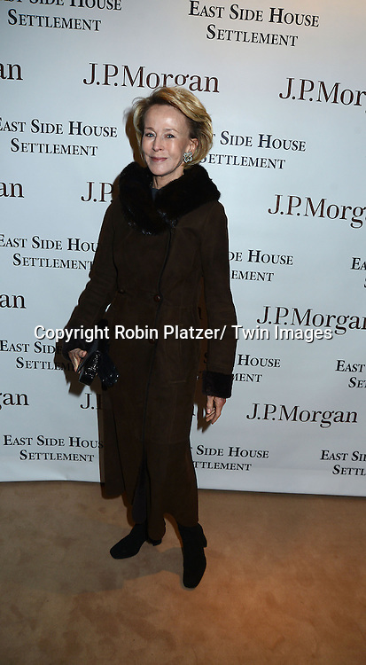 Anne Bass attends the 60th Annual Winter Antiques Show Opening Night Party on January 23, 2014 at The Park Avenue Armory in New York City. The Show benefits The East Side House Settlement.
