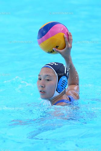 Marina Tokumoto (JPN), <br /> JULY 28, 2015 - Water Polo :<br /> 16th FINA World Championships Kazan 2015<br /> Men's Preliminary Round<br /> match between Brazil 11-8 Japan<br /> at Water Polo Arena in Kazan, Russia.<br /> (Photo by Yohei Osada/AFLO SPORT)