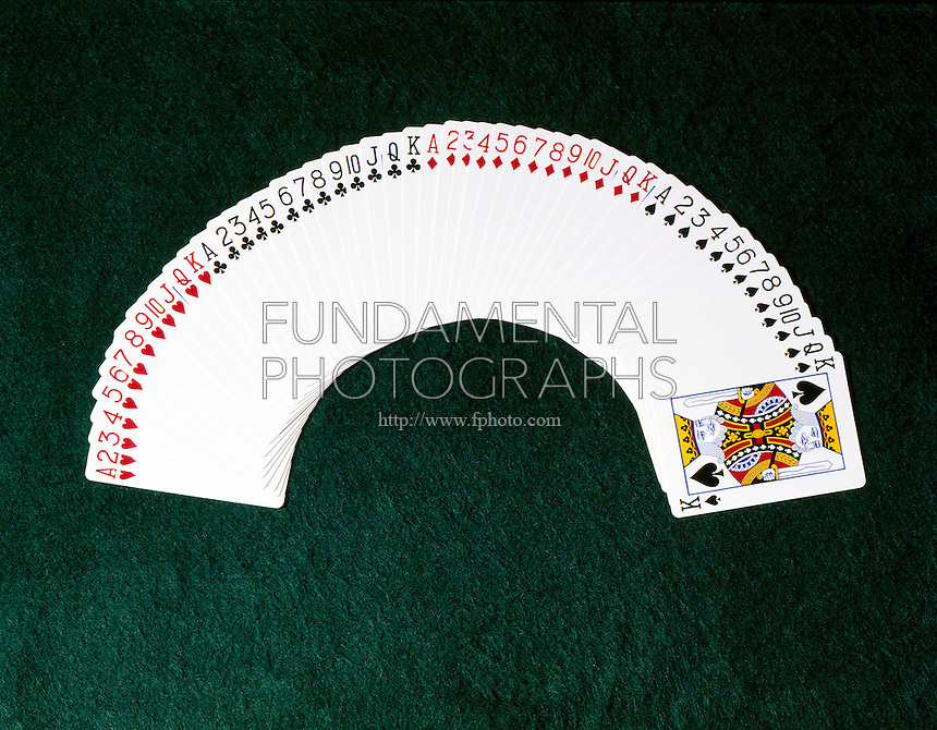 PLAYING CARDS: ARRANGED BY SUIT &amp; RANK<br />