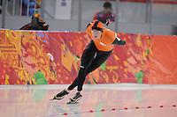 OLYMPICS: SOCHI: Adler Arena, 08-02-2014, 5000 m Men, Sven Kramer (NED), ©photo Martin de Jong