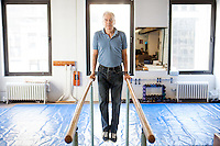 Ivo Lupis, 84, has been working as a personal trainer on 57th St since 1967. His recently client age spans from ages 4-93, though he now mostly works with seniors. <br /> <br /> Danny Ghitis for The New York Times