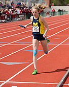 The University of Michigan women's track and field team finished in fourth place at the Big Ten Outdoor Championships at Jesse Owens Memorial Stadium in Columbus, Ohio, on May 12, 2013.