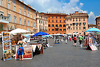 Plazza Navona region of  Rome