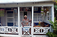 Cindy Dianat at her home in Tamarin.