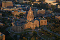 An extraordinary edifice by any measure, the 1888 Texas Capitol is the largest in gross square footage of all state capitols and is second in total size only to the National Capitol in Washington, D.C. Like several other state capitols, the 1888 Texas Capitol surpasses the National Capitol in height, rising almost 15 feet above its Washington counterpart.