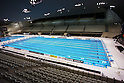 Aquatics Centre,.MARCH 4, 2012 - Swimming :.A general view inside of London Aquatics Centre during the British Gas Swimming Championships 2012 (Selection Trials) in London, United Kingdom. (Photo by Hitoshi Mochizuki/AFLO)