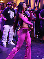 BRONX, NY - AUGUST 11, 2016 Cardi B. performs at the Barcardi x Dean Collection, No Commission Art Performs event, August 11, 2016 Bronx, New York. Photo Credit: Walik Goshorn / Mediapunch
