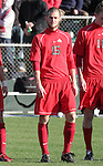 16 December 2007: Ohio State's Doug Verhoff. The Wake Forest University Demon Deacons defeated the Ohio State Buckeyes 2-1 at SAS Stadium in Cary, North Carolina in the NCAA Division I Mens College Cup championship game.