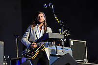 LONDON, ENGLAND - JULY 8: Winston Marshall of 'Mumford &amp; Sons' performing at British Summertime, Hyde Park on July 8, 2016 in London, England.<br /> CAP/MAR<br /> &copy;MAR/Capital Pictures /MediaPunch ***NORTH AND SOUTH AMERICAS ONLY***