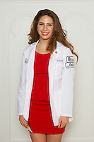 Deborah Shamsian. White Coat Ceremony, class of 2016.