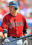 7 March 2011: Houston Astros' infielder Clint Barmes stands on deck during a Spring Training game against the Washington Nationals at Space Coast Stadium in Viera, Florida. The Nationals defeated the Astros 14-9 in Grapefruit League action. Mandatory Credit: Ed Wolfstein Photo