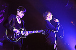 The XX performing at ACL Live, Austin, Texas, February 11, 2013.  The xx are an English indie pop band, formed in London Wandsworth in 2005, consisting of Romy Madley Croft, Oliver Sim, and Jamie Smith.