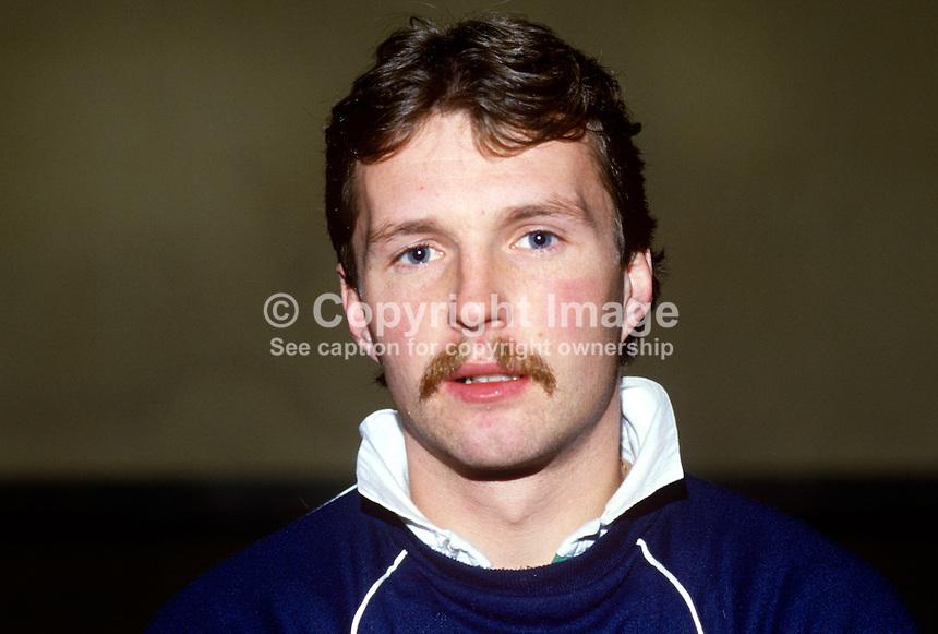 Paul Dean, rugby player, St Mary's RFC, Irish International, 19860105PD1. - Dean-Paul-19860105PD1