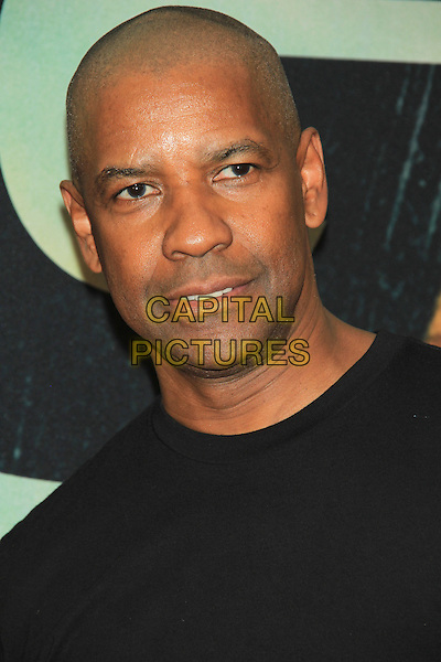 Denzel washington with shaved head