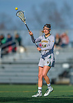 30 March 2016: University of Vermont Catamount Midfielder Courtney Cole, a Sophomore from York, Maine, in second half action against the Manhattan College Jaspers at Virtue Field in Burlington, Vermont. The Lady Cats defeated the Jaspers 11-5 in non-conference play. Mandatory Credit: Ed Wolfstein Photo *** RAW (NEF) Image File Available ***