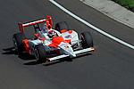 10-18 May 2008, Indianapolis, Indiana, USA. Helio Castroneves's Honda/Dallara.©2008 F.Peirce Williams USA.