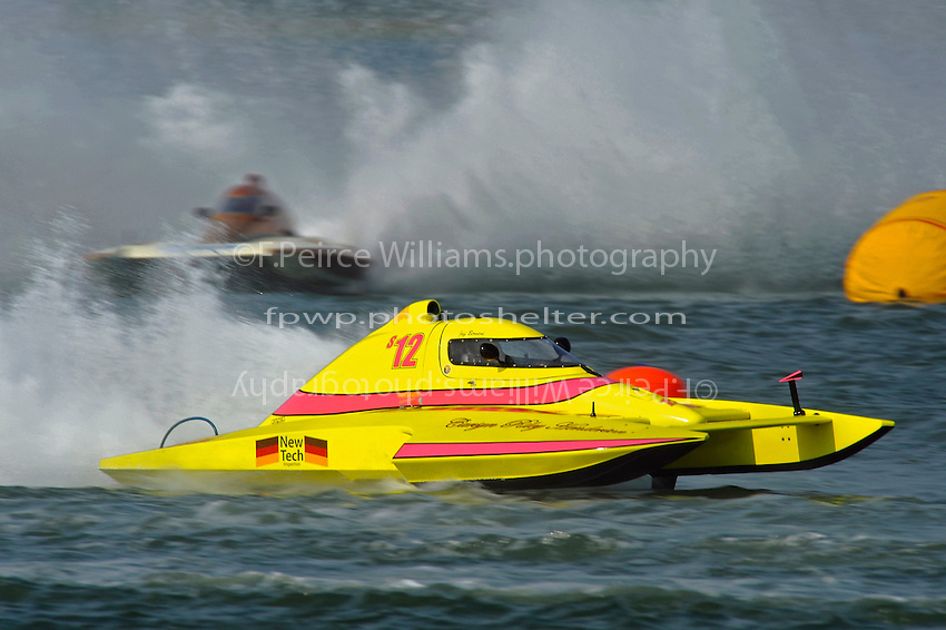 "S-12 ""Liquid Lizard"" (2.5 Litre Stock hydroplane(s) and Kent Henderson, CS-519 ""Bank On It"""