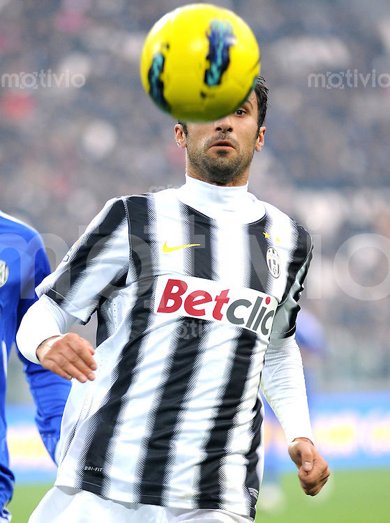 FUSSBALL INTERNATIONAL   SERIE A   SAISON 2011/2012    Juventus Turin - AC Cesena 04.12.2011 Mirko Vucinic (Juventus Turin)