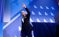 United States President Barack Obama waves at the 39th Annual Congressional Hispanic Caucus Institute Public Policy Conference and Annual Awards Gala at the Walter E. Washington Convention Center, September 15 2016, in Washington, DC. <br /> Credit: Olivier Douliery / Pool via CNP /MediaPunch