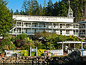 Historic Hotel de Haro at Roche Harbor Resort, San Juan Island, Washington.