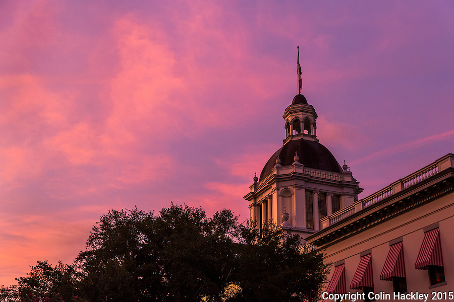 TALLAHASSEE, FLA. 7/13/15-Florida&rsquo;s Historic Capitol building at sunset.<br /><br />COLIN HACKLEY PHOTO