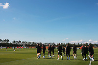 Football - England Training - Arsenal Training Grounds.England Team  arrive for training..
