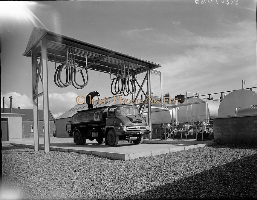 New Shell Depot at Ballina, Co. Mayo..27.04.1961