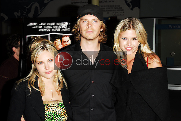 Amanda Loncar with Eric Christian Olsen and Sarah Mason<br />