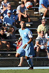 18 September 2015: North Carolina's David October (ENG). The University of North Carolina Tar Heels hosted the University of Notre Dame Fighting Irish at Fetzer Field in Chapel Hill, NC in a 2015 NCAA Division I Men's Soccer match. North Carolina won the game 4-2