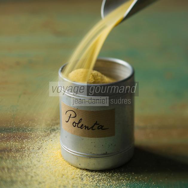 Europe, Italie: Polenta //  Europe, Italy: Polenta - Stylisme : Valérie LHOMME