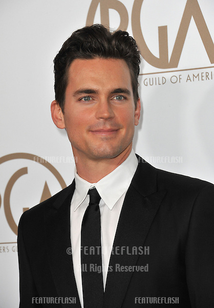 Matt Bomer at the 2013 Producers Guild Awards at the Beverly Hilton Hotel..January 26, 2013  Los Angeles, CA.Picture: Paul Smith / Featureflash