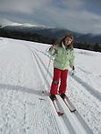 Emma Shapera.Cross Country Skiing.Mount Washington Hotel.Bretton Woods, New Hampshire..... .