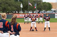 SAN ANTONIO, TX - APRIL 29, 2007: The Sam Houston State University Bearkats vs. The University of Texas at San Antonio Roadrunners Softball at Roadrunner Field. (Photo by Jeff Huehn)