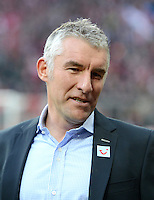 FUSSBALL   1. BUNDESLIGA  SAISON 2012/2013   13. Spieltag FC Bayern Muenchen - Hannover 96     24.11.2012 Trainer Mirko Slomka (Hannover 96)