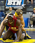 The University of Michigan men's wrestling team lost to Nebraska, 20-19, at Cliff Keen Arena in Ann Arbor, Mich., on January 11, 2013.