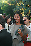 Model Jessica White Attends Russell Simmons' 12th Annual Art for Life East Hampton Benefit, NY  7/30/11