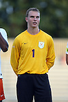 11 September 2015: Virginia's Jeff Caldwell. The Duke University Blue Devils hosted the University of Virginia Cavaliers at Koskinen Stadium in Durham, NC in a 2015 NCAA Division I Men's Soccer match. The game ended in a 2-2 tie after overtime.