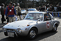 November 27, 2011, Tokyo, Japan - A 1969 Toyota Sports 800 takes part in the fifth Classic Car Festa 2011 in Tokyo on Sunday, November 27, 2011. Some 43,000 spectators watch about 100 domestic and foreign classic and vintage cars parade the gingko-lined streets of the Meiji Shrines Outer Garden in the annual open-air exhibition and parade sponsored by Toyota Automobile Museum. (Photo by Natsuki Sakai/AFLO) [3615] -mis-