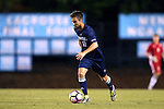 04 October 2016: UNCW's Huntley Munn. The University of North Carolina Tar Heels hosted the UNC Wilmington Seahawks at Fetzer Field in Chapel Hill, North Carolina in a 2016 NCAA Division I Men's Soccer match. UNC won the game 1-0.