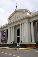 The neoclassical style Palacio Nacional on the Plaza de la Republica in downtown Managua, Nicaragua