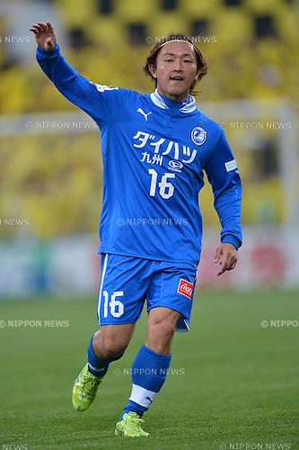Takenori Hayashi (Trinita),.MARCH 30, 2013 - Football / Soccer : 2013 J.League Division 1,st Sec between Kashiwa Reysol 3-1 Oita Trinita at Hitachi Kashiwa Stadium, Chiba, Japan. (Photo by Jun Tsukida/AFLO SPORT) [0003].