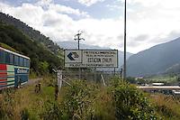 Petroleum Industry in the Pappallacta area, Ecuador