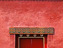 AA01234-03...CHINA - Doorway in the Forbidden City of Beijing