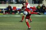 13 December 2013: New Mexico's Mathew Gibbons (NZL). The University of Notre Dame Fighting Irish played the University of New Mexico Lobos at PPL Park in Chester, Pennsylvania in a 2013 NCAA Division I Men's College Cup semifinal match. Notre Dame won the game 2-0.
